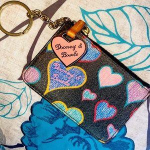 Dooney and Bourke Keychain Wallet